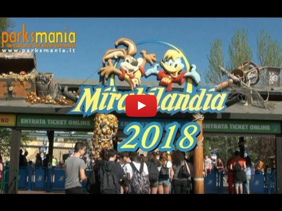 MIRABILANDIA 2018 - Tutto il parco!